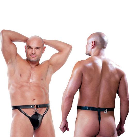 Bondage chastity belt balls fantasy