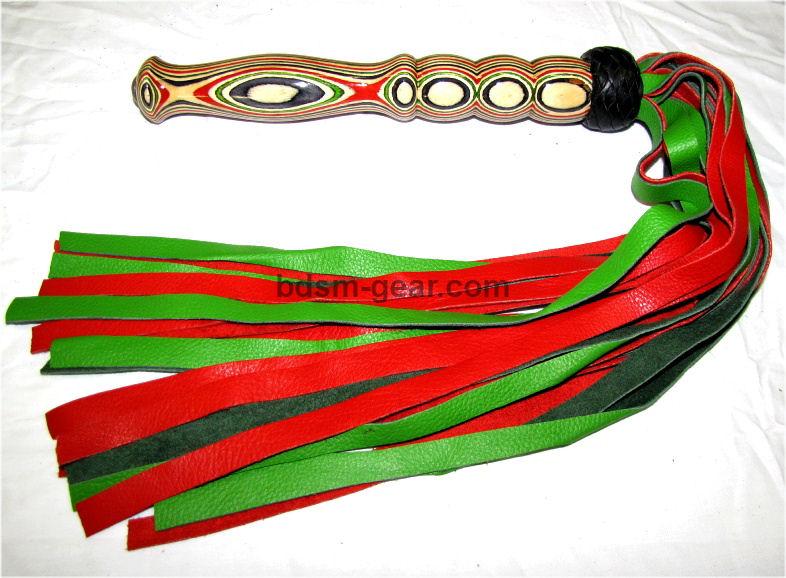 Wood Laminate Handle Floggers