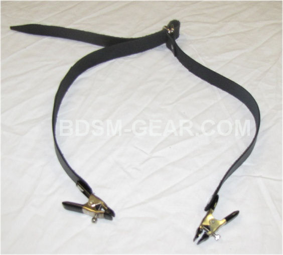 Nipple Clamps on Neck Strap