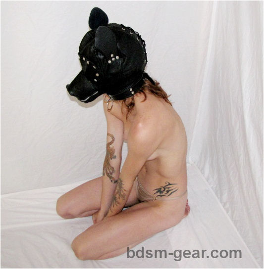 Pony or Puppy Play Hood