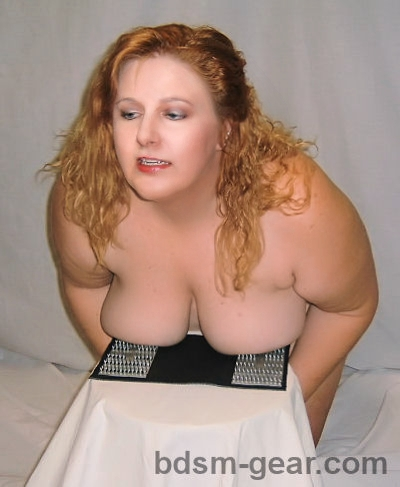 Chubby women in bondage