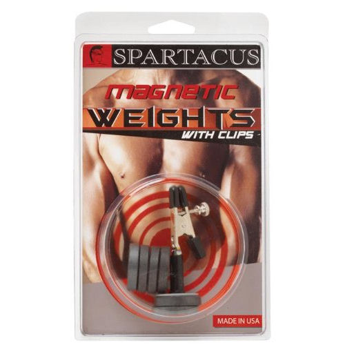 Single Nipple Clamp With Magnetic Weights