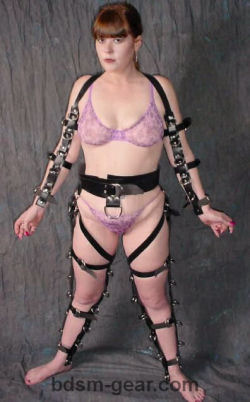 Bdsm sex slaves in bondage