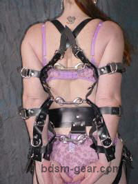 Arm Binding Harness Straps