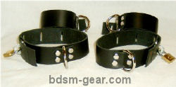 Locking Bondage Cuffs