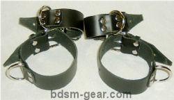 Roller Buckle Bondage Cuffs
