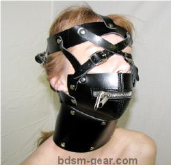 Muzzle Gag with Harness