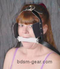 pony-play blinders for bdsm role-play fetish gothic gorean submissive and slave bondage