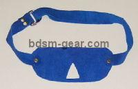 Blue Soft Suede Blindfolds