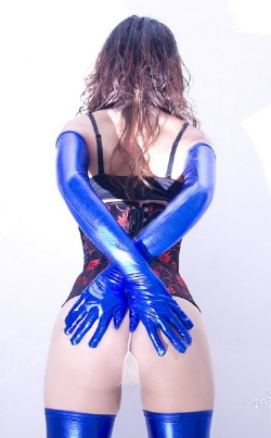 BDSM Gloves and Stockings