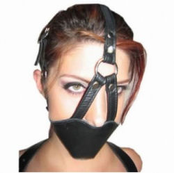 Bondage Muzzle with Ball Gag