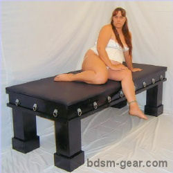 Authoritative Bdsm blindfold bondage fetish restraint spank