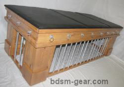 Wooden bdsm cages