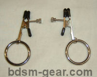 breast torture nipple clamps