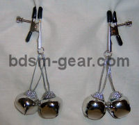 jingle bell nipple clamps