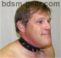 Deluxe Spiked Collar