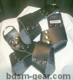 suspension cuffs for bdsm fetish gothic gorean submissive and slave bondage