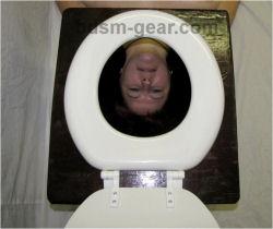 Bdsm toilet throne