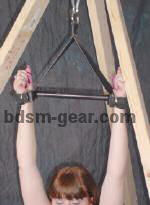 suspension spreader bar with cuffs