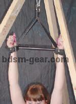 suspension spreader bar with cuffs