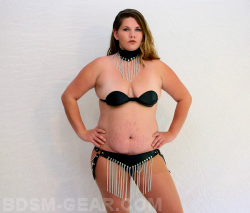 Chain Panty/Bra/Collar Set