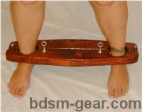 dungeon slave yoke hobbler bondage devices bdsm restraints fetish store