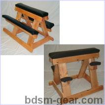 portable spanking horse