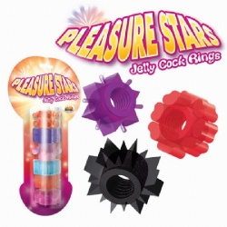 Pleasure Star Cock Rings
