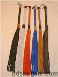 Extra large king size suede leather floggers bondage fetish bdsm