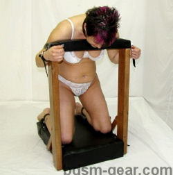 Portable Kneeler with Straps