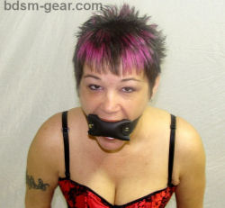 Soft Leather Gag