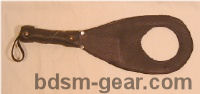 leather paddle with hole bdsm bondage fetish