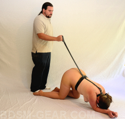 Slave Lead with Collar