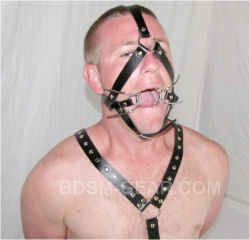 Spider Leg Gag With Harness