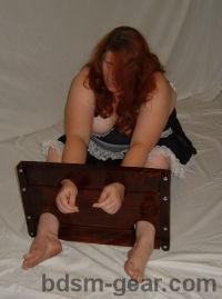 wooden sitting stockade
