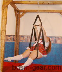 leather sex swing