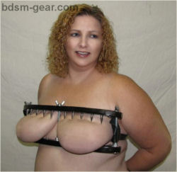 Spiked Breast Torture vise