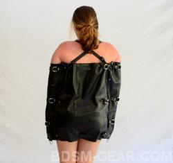 xl xxl xxxl leather arm binder bdsm fetish gothic gorean bbw submissive and slave bondage