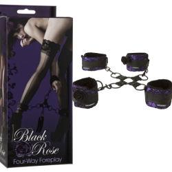 rose cuffs restraints bondage gear bdsm store adlt toy