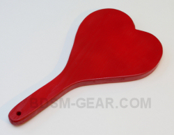BDSM heart paddle